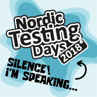 Speaking at Nordic Testing Days